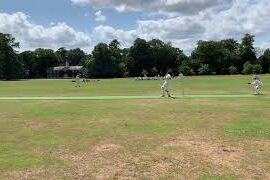 Ross caught …mid wicket with some ease